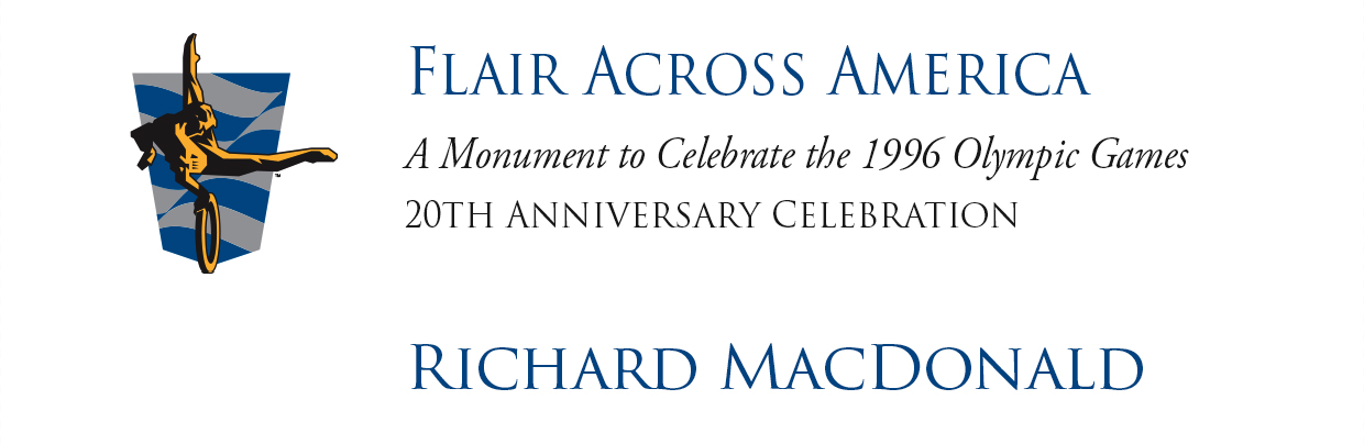 Flair Across America - A Monument to Celebrate the 1996 Olympic Games - 20th Anniversary Celebration