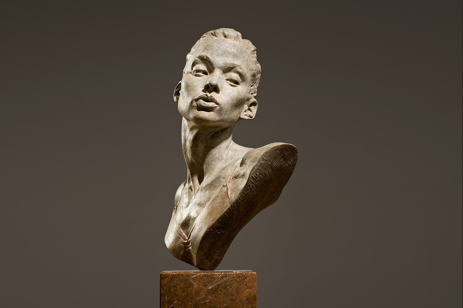 bronze portraits and bronze busts