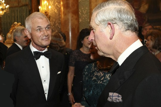 Richard MacDonald and HRH Prince Charles
